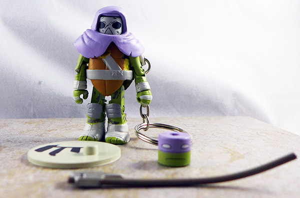 Vision Quest Donatello Loose Minimate (TMNT TRU Series 3)