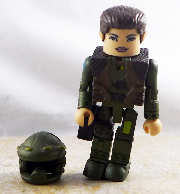 Captain Kat Katraine Loose Minimate (Battlestar Galactica Previews Exclusive)