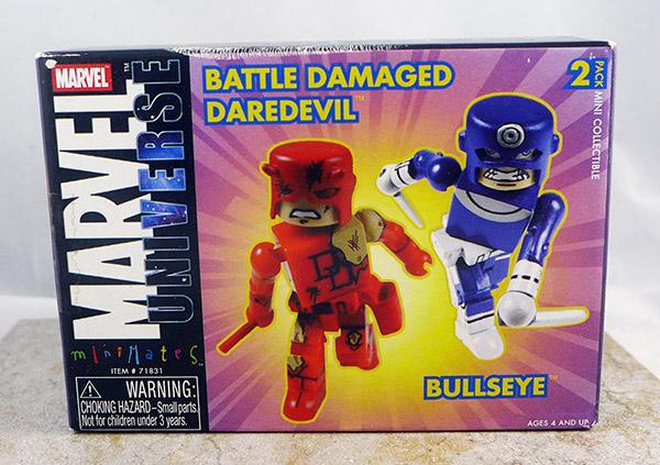 Battle Damaged Daredevil and Bullseye (Wave 4)