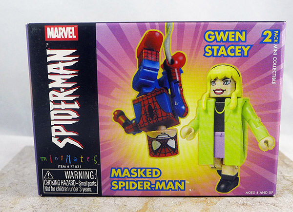 Masked Spider-Man and Gwen Stacy (Wave 4)