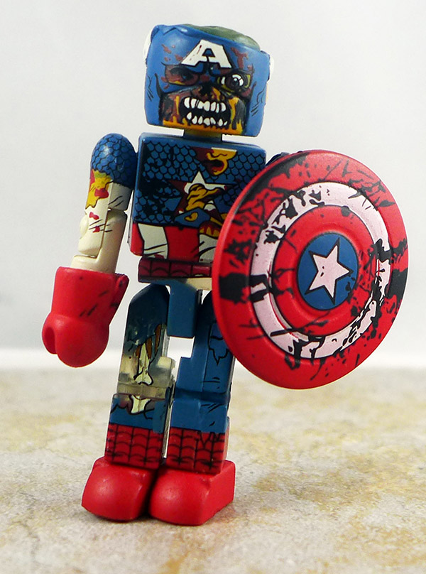 Zombie Col. America Loose Minimate (Marvel Zombies 5-Pack)