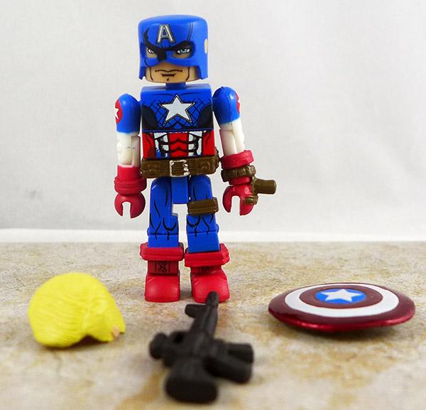 Ultimate Captain America Loose Minimate (TRU Wave 14)