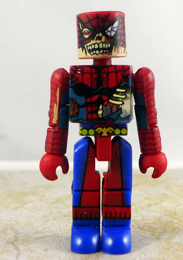 Zombie Spider-Man Loose Minimate (Marvel Zombies 5-Pack)