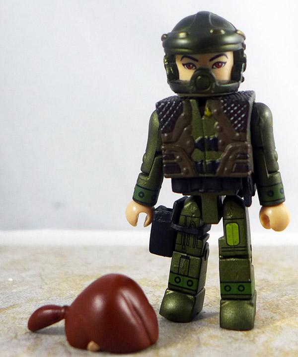 Lieutenant Boomer Partial Loose Minimate (Battlestar Galactica Wave 2)