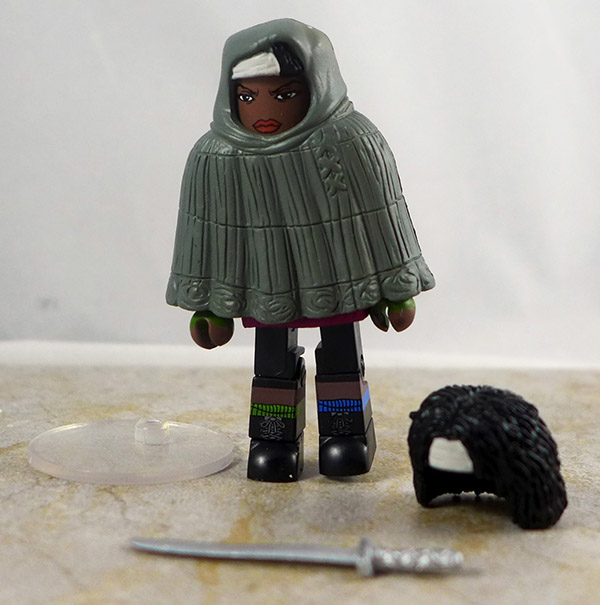 Hooded Michonne Loose Minimate (Walking Dead TRU Wave 4)