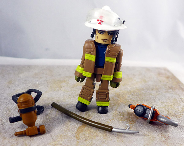 Smoke Jumper Fire Chief 3 Loose Minimate (Elite Heroes 4 Pack)