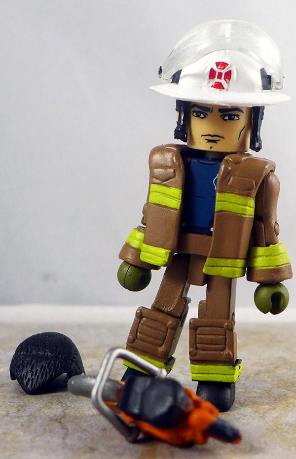 Smoke Jumper Fire Chief 3 Loose Minimate (Elite Heroes 4 Pack)