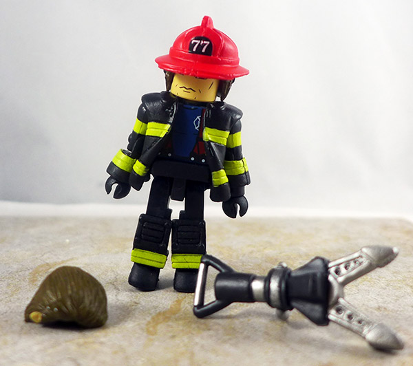 Fire Fighter Chief 3 Loose Minimate (Elite Heroes 4 Pack)