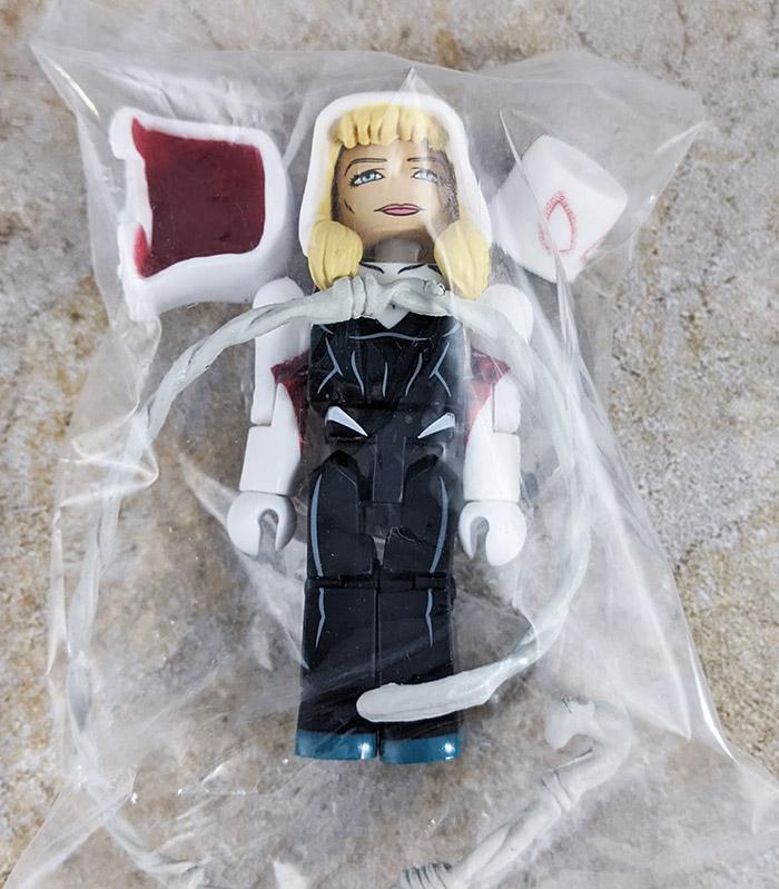 Unmasked Spider-Gwen Loose Minimate (Marvel Now! Blind Bag)