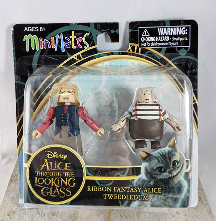 Ribbon Fantasy Alice and Tweedledum Minimates (Alice Through the Looking Glass Series 1)