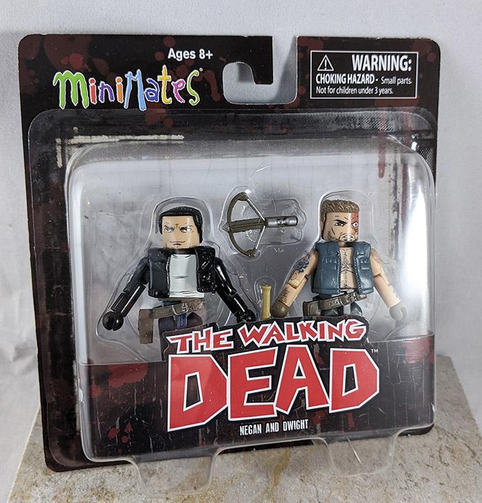 Negan and Dwight Minimates (Walking Dead Wave 7)