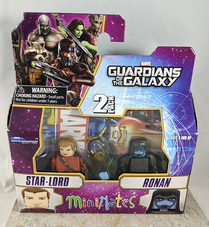 Star-Lord and Ronan Minimates (Marvel Wave 57)