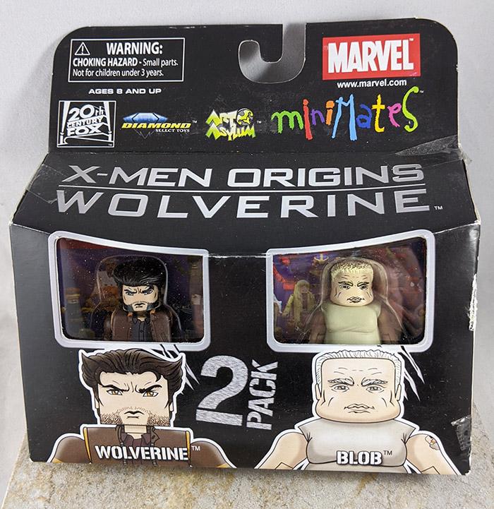 Wolverine and Blob Minimates (Marvel Wave 26)
