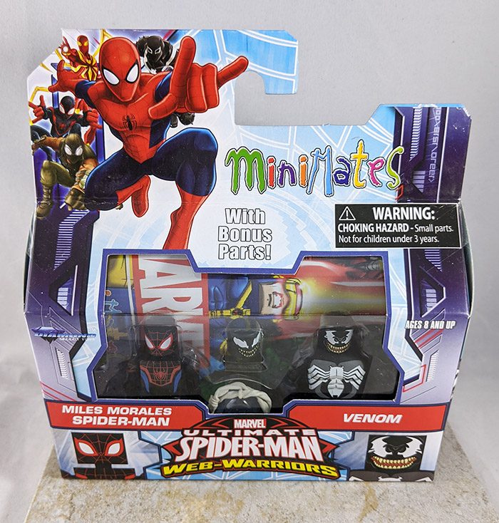 Miles Morales Spider-Man and Venom Minimates (Marvel Walgreens Wave 1.5)