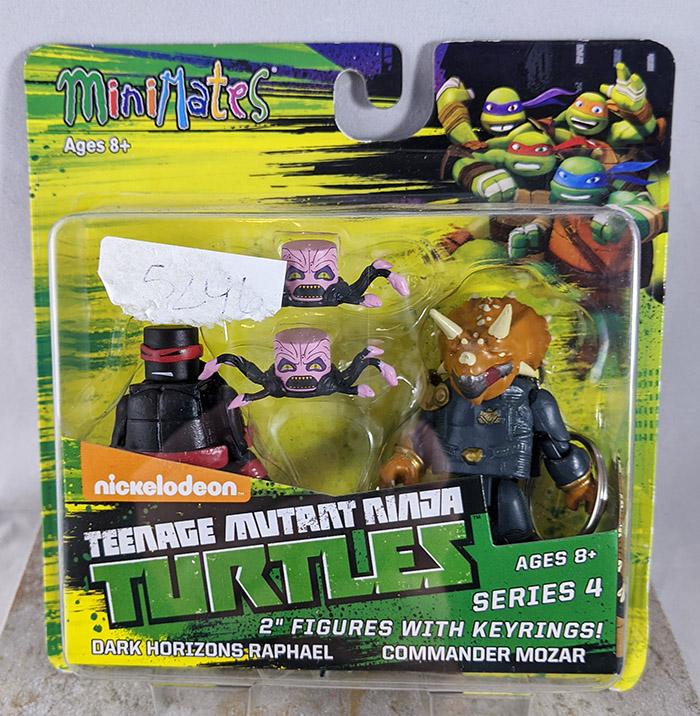 Dark Horizons Raphael and Commander Mozar Minimates (TMNT TRU Series 4)