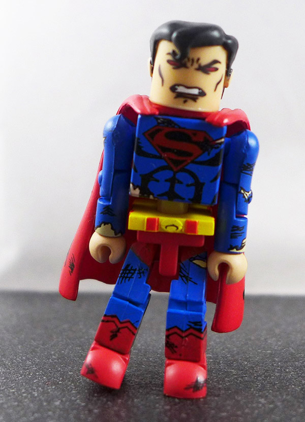 Superman Battle-Damaged Loose Minimate (DC Series 2)
