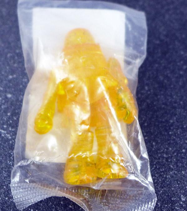 Translucent Orange Michelangelo Loose Minimate (TMNT SDCC 2014 Exclusive Single Pack)