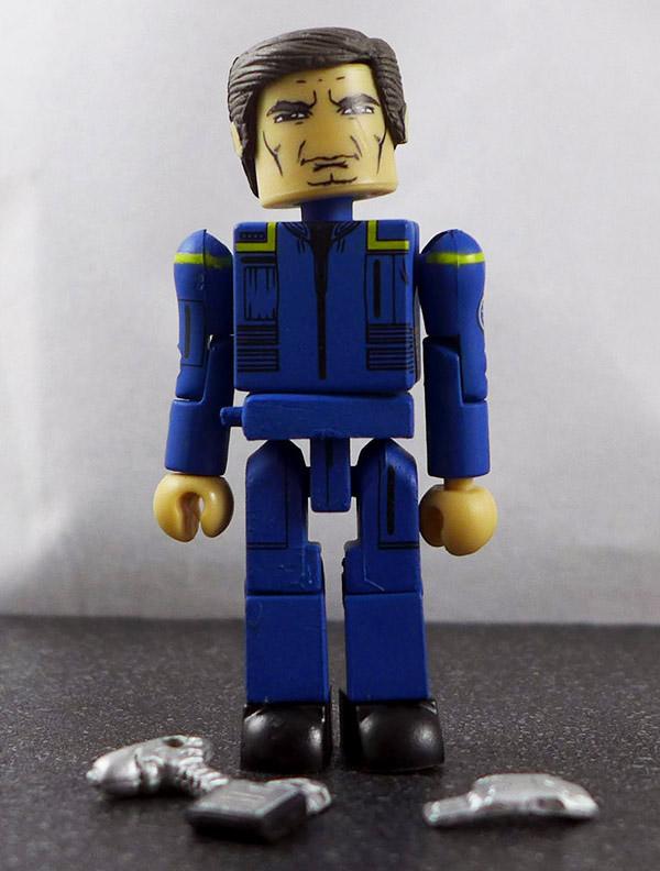 Captain Archer Loose Minimate (Star Trek Legacy Wave 1)