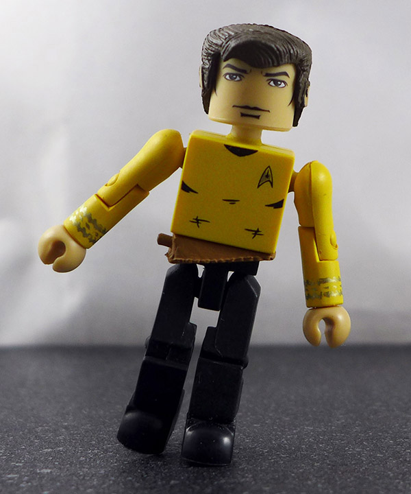 Captain Kirk Partial Loose Minimate (Star Trek Legacy TRU Wave 1)