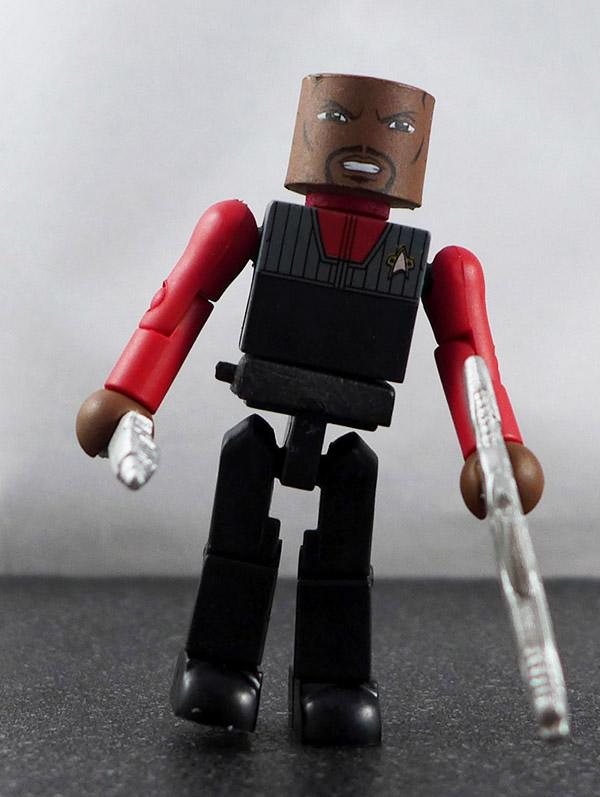 Captain Sisko (vest) Loose Minimate (Star Trek Legacy TRU Wave 1 )