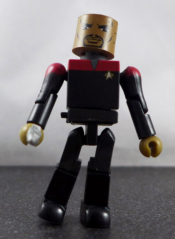 Captain Sisko Custom Loose Minimate (Star Trek Series 5)