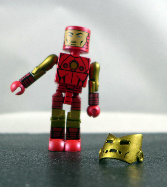 Iron Man Partial Loose Minimate (Iron Man Through the Ages Box Set)