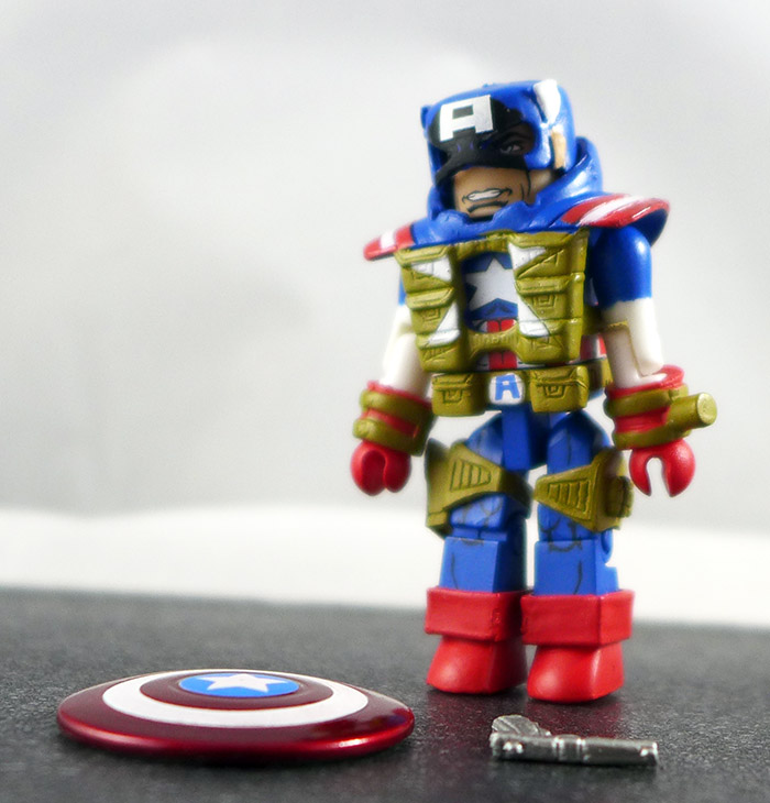 Fighting Chance Captain America Partial Loose Minimate (Marvel Wave 54)