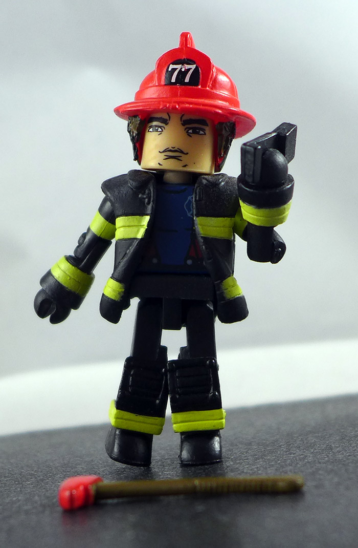 Fire Fighter Chief 1 Custom Loose Minimate