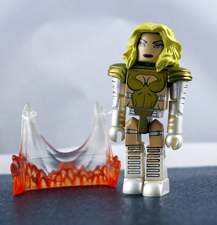 Phoenix Five Emma Frost Custom Loose Minimate (Marvel TRU Wave 16)