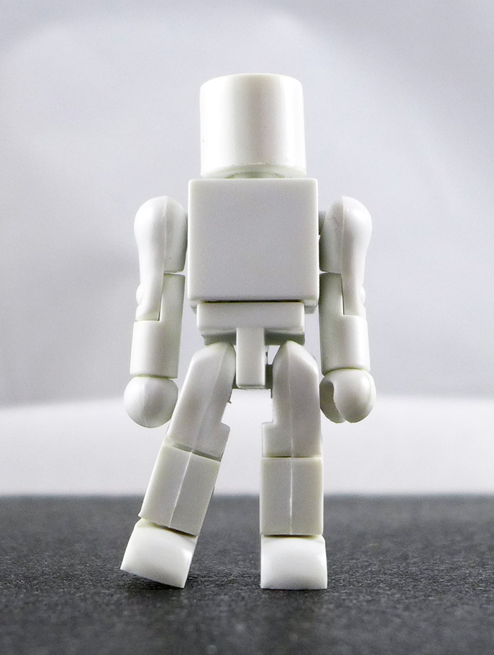 White Factory Test Prototype Minimate