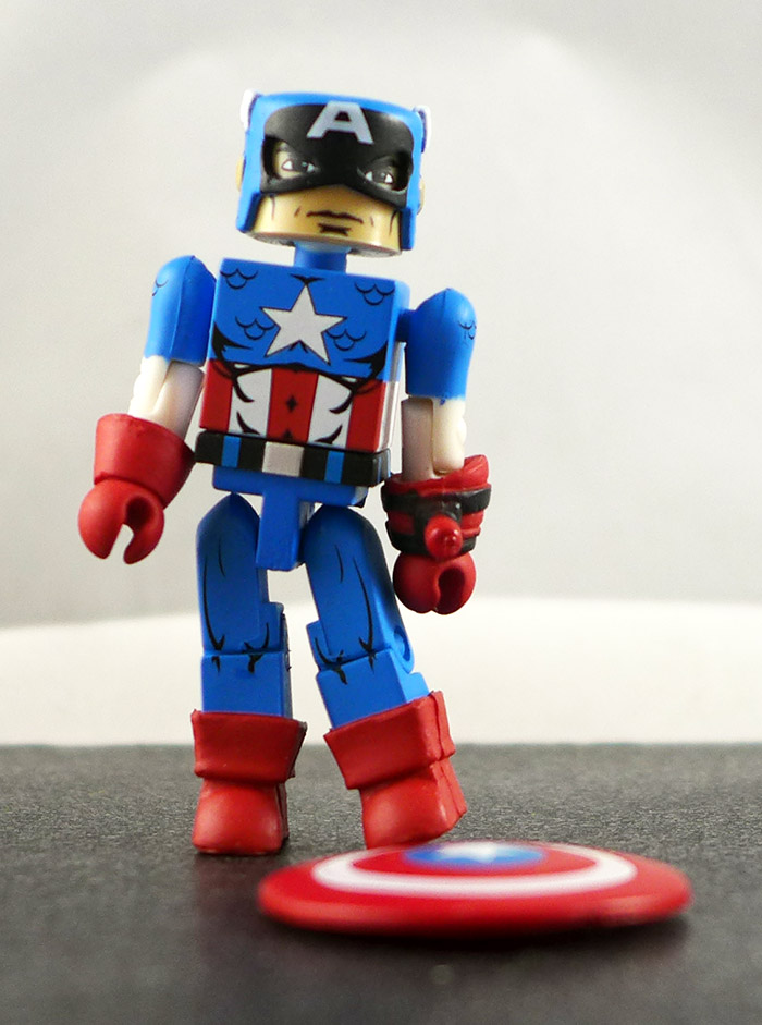 Captain America Partial Loose Minimate (Marvel 'Best of
