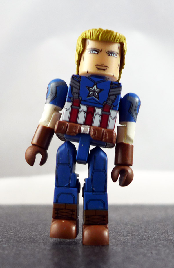 Classic Captain America Partial Loose Minimate (Marvel Wave 55)