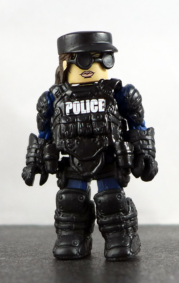 Law Enforcement Officer 3 Partial Loose Minimate (Elite Heroes Box Set)