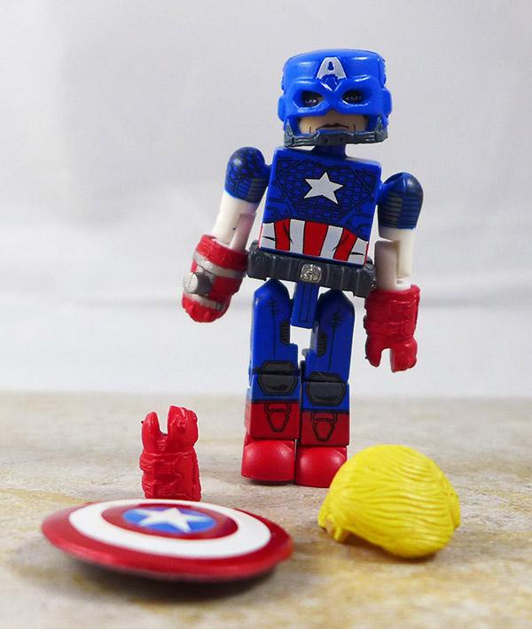 Captain America Loose Minimate (Marvel TRU Wave 16)