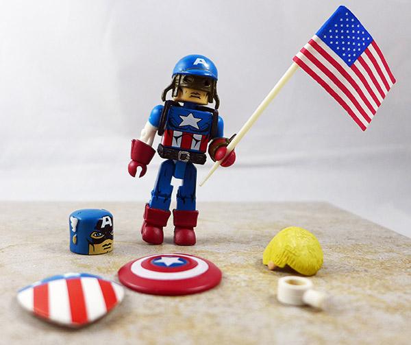 Civil War Captain America Custom Loose Minimate (Marvel Wave 42)