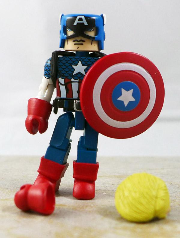 Captain America Custom Loose Minimate (Invaders Box Set)