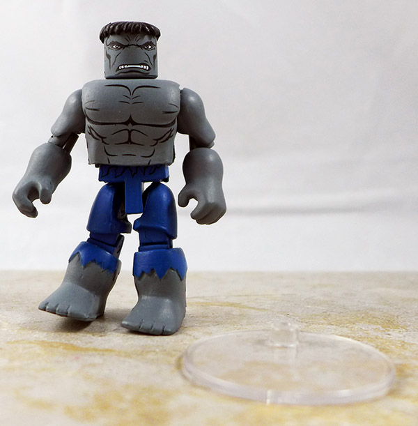 Transforming Grey Hulk Partial Loose Minimate (Marvel 'Best of' Wave 3)