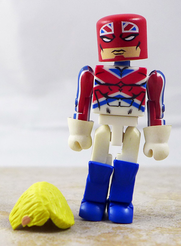 Captain Britain Custom Loose Minimate (Marvel Wave 31)