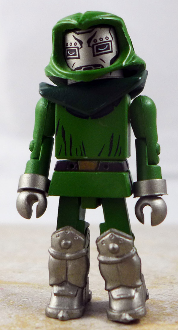 First Appearance Dr. Doom Partial Loose Minimate (Marvel TRU Wave 8)