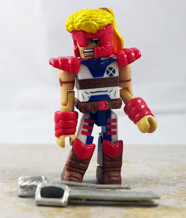 Warrior Shatterstar Loose Minimate (X-Force Box Set)