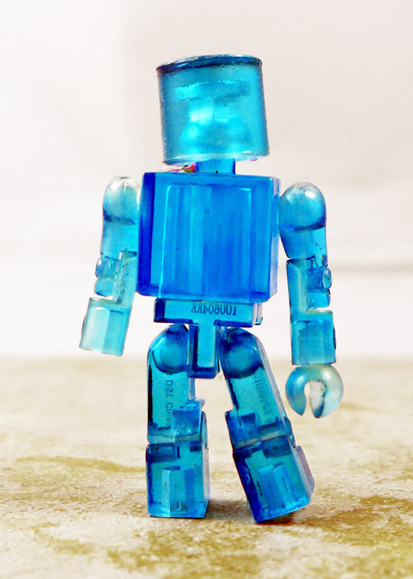 Translucent Blue Partial Loose Minimate (SDCC 2010 Promotional Single Pack)