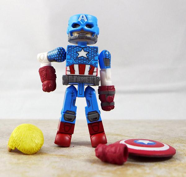 Marvel Now Captain America Loose MInimate (Marvel 'Best of
