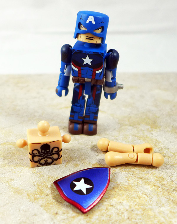 Agent of Hydra Captain America Partial Loose Minimate (Marvel Wave 74)