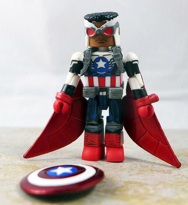 Falcon as Captain America Loose Minimate (Marvel Wave 62)