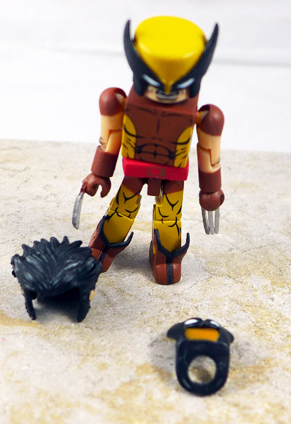 Tactical Wolverine Custom Loose Minimate (Marvel TRU Wave 23)