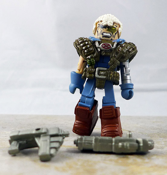 Retro X-Force Cable Partial Loose Minimate (Marvel Wave 32)