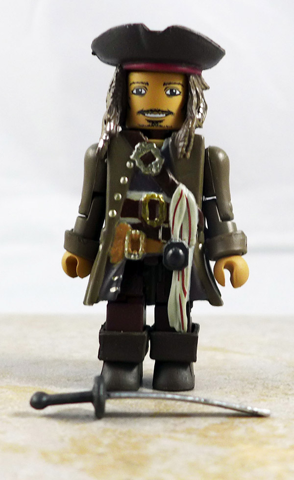 Jack Sparrow Loose Minimate (Pirates of the Caribbean: Dead Men Tell No Tales Wave 1)