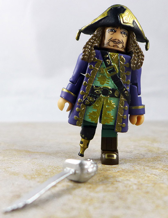 Barbossa Loose Minimate (Pirates of the Caribbean: Dead Men Tell No Tales Wave 1)