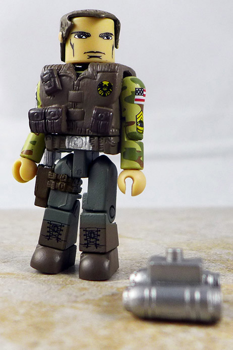 Modern S.H.I.E.L.D. Agent Custom Minimate