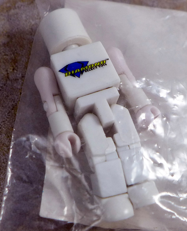 Diamond Select Toys Logo Blank Loose Minimate (NYCC 2009 Promotional Single Pack)